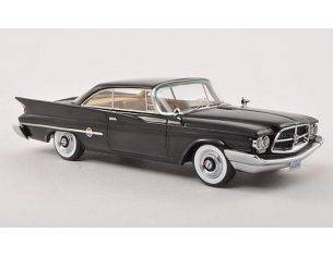 Neo Scale Models NEO44684 CHRYSLER 300F COUPE' 1960 BLACK 1:43 Modellino