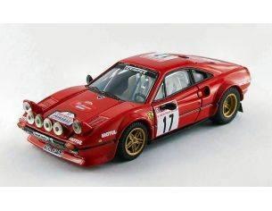 Best Model BT9533 FERRARI 308 GTB N.17 16th TOUR DE FRANCE 1983 BOUTELOUP-PANIC 1:43 Modellino
