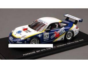 Matrix MX021 PORSCHE 997 GT N.17 CARRERA CUP 2009 1:43 Modellino