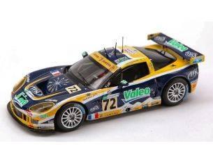 Spark Model S0168 CORVETTE C 6 R N.72 LM 2007 1:43 Modellino