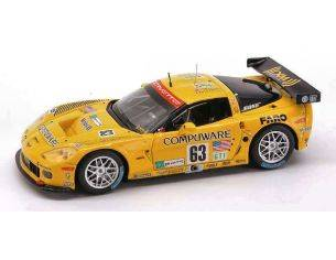 Spark Model S0178 CORVETTE C6R N.63 6th LM 2007 O'CONNELL-MAGNUSSEN-FELLOWS 1:43 Modellino