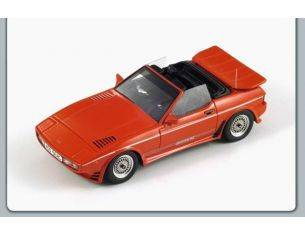 Spark Model S0238 TVR 450 SEAC 1986 RED 1:43 Modellino