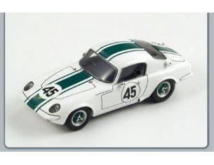 Spark Model S0268 LOTUS ELAN 26R SHAPECRAFT N.45 LIGHTWORK RACING 1963 1:43 Modellino