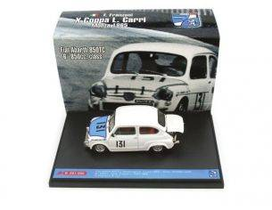 Brumm BMS1003 FIAT 850 ABARTH N.131 MONZA 1965 FRANZONI 1:43 Modellino