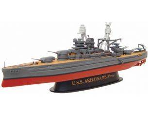 Alpha International 09001 USS ARIZONA NAVAL WAR VESSELS 1/700 Modellino