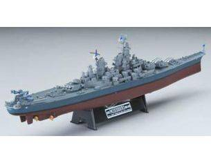 Alpha International 09007 USS MISSOURI NAVAL WAR VESSELS 1/700 Modellino