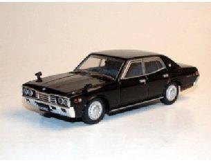 Aoshima 74114 NISSAN CEDRIC 2000 SGL BLACK'75 1/43 Modellino