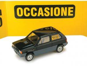 Brumm BM0387-06K0 FIAT PANDA 45 1980 NERO LUXOR KM 0 1:43 Modellino