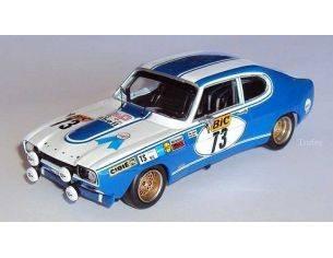 Trofeu 2308 FORD CAPRI 2600RS 24H SPA '71 1/43 Modellino