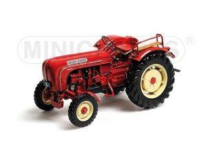 MINICHAMPS 109183071 HOFHERR SCHRANTZ PORSCHE SUPER FARM TRAKTOR 1958 RED Modellino