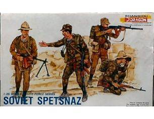Dragon D3002 FIGURE SOVIET SPETSNAZ KIT 1:35 Modellino
