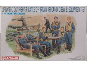 Dragon D5532 LUFTWAFFE GROUND CREW KIT 1:48 Modellino
