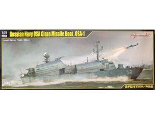 Merit Model ME67201 RUSSIAN NAVY OSA CLASS MISSILE BOAT OSA-1 KIT 1:72 Modellino