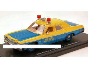 Auto World AWR1150 DODGE MONACO NEW YORK STATE POLICE 1974 1:43 Modellino