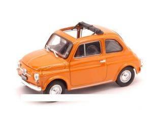 Brumm BM0454-13 FIAT 500 F 1965-72 APERTA GIALLO POSITANO 1:43 Modellino