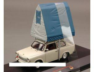 IST Models IST188 TRABANT 601S LIMOUSINE (CAMPING) 1980 LIGHT GREY 1:43 Modellino