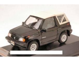 PremiumX PRD330 SUZUKI SIDEKICK 1994 CONVERTIBLE BLACK WITH SOFT TOP WHITE 1:43 Modellino