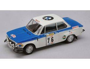 Trofeu TF1702 BMW 2002 N.76 WINNER TAP PORTUGAL RALLY 1972 WARMBOLD-J.TODT 1:43 Modellino