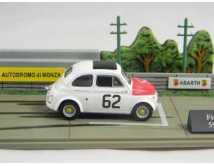 500 009 FIAT 500 ABARTH 595 I SERIE n.62 1/43 Modellino