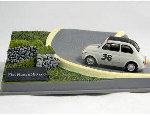 500 026 FIAT NUOVA 500 ECO n.36 1/43 Modellino