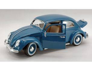 Bburago BU12029BL VW KAFER BEETLE 1955 BLUE 1:18 Modellino