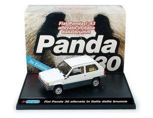 Brumm BMS0502 FIAT PANDA 30 1980 PANDA A BORDO 1:43 Modellino