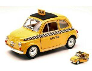Bburago BU21033 FIAT 500 1965 NEW YORK CITY TAXI 1:24 Modellino
