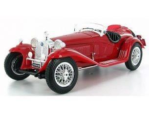 Bburago BU12063R ALFA ROMEO 8 C 2300 SPIDER 1932 RED 1:18 Modellino