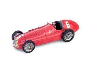 Brumm BMS054 ALFA ROMEO 158 J.M.FANGIO 1950 N.6 WINNER FRANCE GP 1:43 Modellino