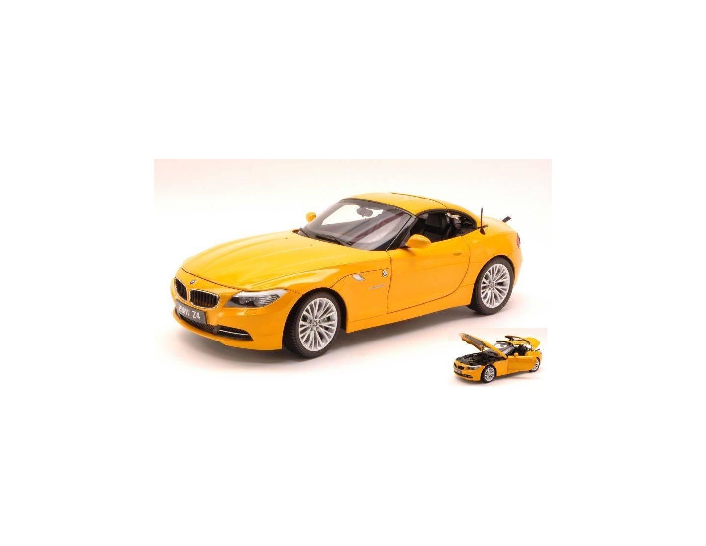Kyosho Ky8771ay Bmw Z4 Convertible S Drive E89 2009 Atacama Yellow 1 18 Modellino