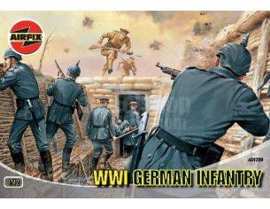 AIRFIX A1726 WWI GERMAN INFANTRY kit figure militari 1:72 Modellino
