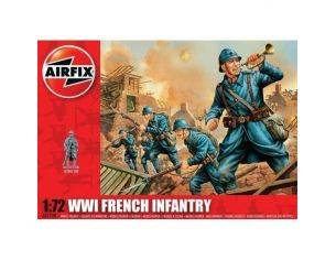AIRFIX A01728 WWI FRENCH INFANTRY kit figure militari 1:72 Modellino