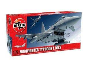 AIRFIX A04036 EUROFIGHTER TYPHOON F. MK2 KIT militari 1:72 Modellino