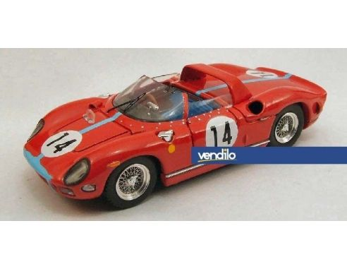 Art Model AM0200 FERRARI 330 P N.14 2nd LM 1964 HILL-BONNIER 1:43 Modellino