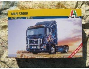 Italeri IT0741 MAN F2000 KIT 1:24 Modellino