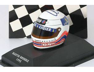Minichamps PM308950125 CASCO MARTIN BRUNFLE 1995 TEAM MC LAREN 1:8 Modellino