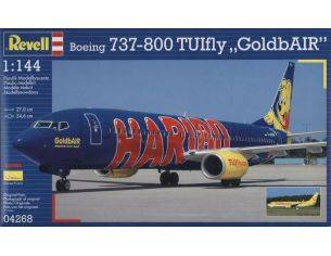 Revell 04268 BOEING 737-800 TUIfly GoldbAIR haribo 1:144 kit Modellino