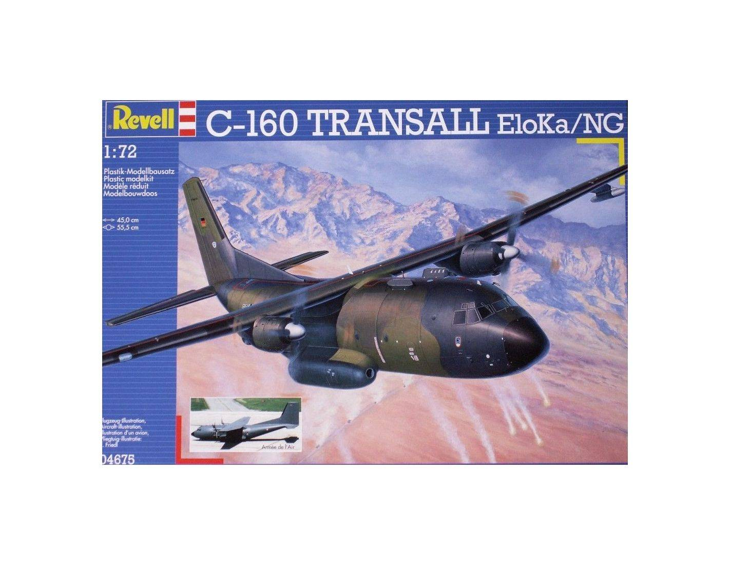 Elicottero Hot Wheels : Revell c transall eloka ng kit elicottero modellino