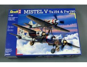 Revell 04824 Mistel V Ta154 & Fw190 kit 1:48 Modellino