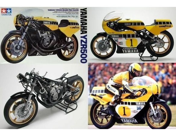 kit moto kit di montaggio 1 12 tamiya 14001 yamaha yzr500 grand prix racer motorcycle series no. Black Bedroom Furniture Sets. Home Design Ideas