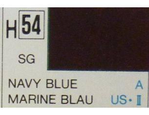 Gunze GU0054 NAVY BLUE SEMI-GLOSS  ml 10 Pz.6 Modellino
