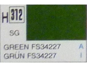 Gunze GU0312 GREEN SEMI-GLOSS ml 10 Pz.6 Modellino