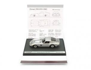 Brumm BMS1250A FERRARI 250 GTO 1962-2012 50th ANNIVERS. ED.LIM.500 PCS ALLUMINIO 1:43 Modellino