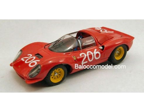 Art Model AM0202 FERRARI DINO 206 N.206 T.FL.'68 1:43 Modellino