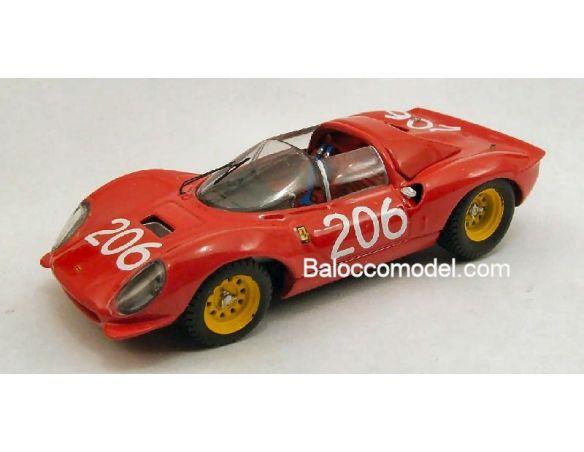Art Model AM0202 FERRARI DINO 206 N.206 T.FL.'68 1:43 Modellino