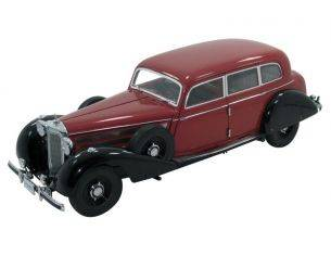 Signature SIGN38203 MERCEDES 770 K 1938 W/FIGURES RED 1:18 Modellino
