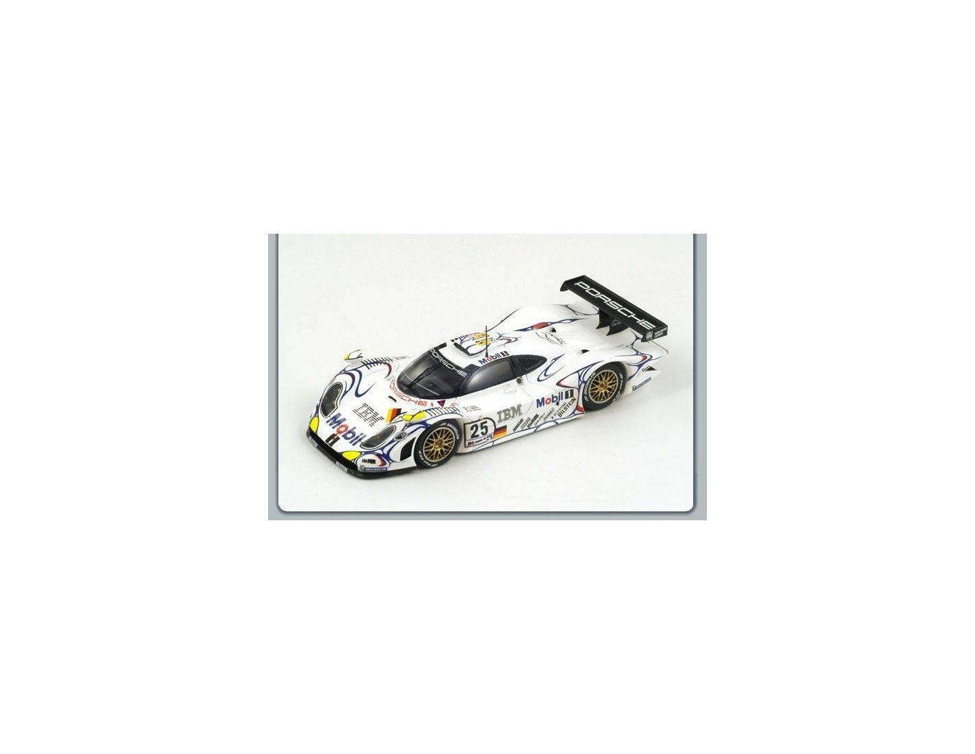 spark model s4180 porsche 911 gt1 2nd lm 1998 muller alzen wollek 1 43 modellino die cast. Black Bedroom Furniture Sets. Home Design Ideas