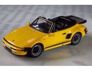 High Speed HF9151S PORSCHE 911 CARRERA FLAT NOSE CABRIO YELLOW 1/43 Model Collection Modellino