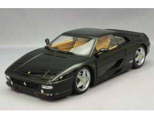 Details Cars Collection 152 FERRARI F 40 METAL BLACK 1/43 scatola rovinata Modellino