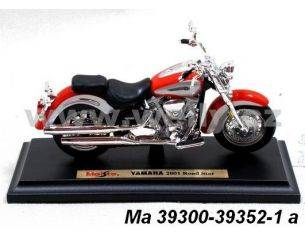 Maisto MI39352 YAMAHA ROAD STAR RED 1/18 Modellino
